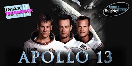 IMAX Throwback: Apollo 13 tickets