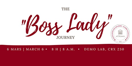 "The ""Boss Lady"" Journey! Panel in English tickets"