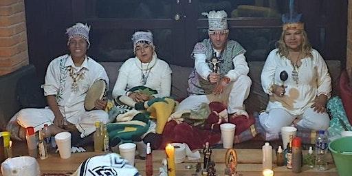 Ceremonia en Teotihuacan con 5 Maestros Ayahuasca/Bufo/Kambó