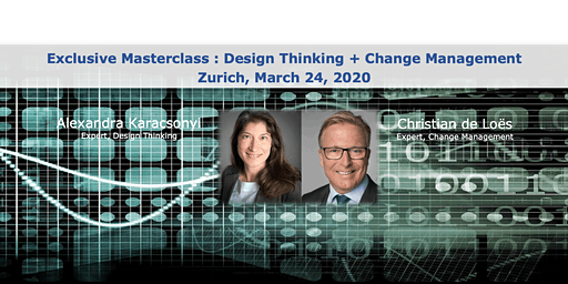 "Exclusive Masterclass ""Design Thinking & Change Management"""