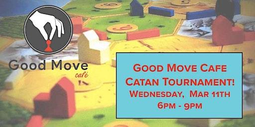 Catan Tournament March 4th!