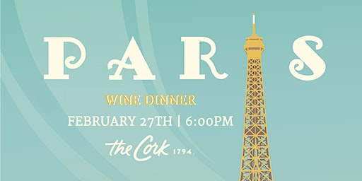 Paris Wine Dinner