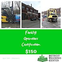 Forklift Operator Certification (04.18.20)