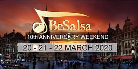 BeSalsa 10th Anniversary weekend tickets