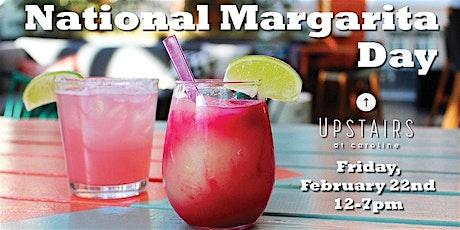 National Margarita Day at Upstairs at Caroline tickets