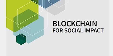 Hackathon Blockchain 4 social impact, SDG, sustainability, responsibility tickets