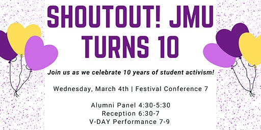 ShoutOut JMU Turns 10!