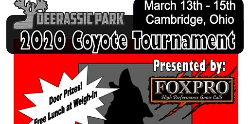 2020 Deerassic Park Coyote Tournament