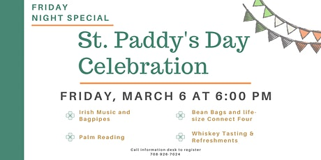 St. Patrick's Night at the Library tickets