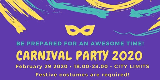 Greek Carnival Party 2020