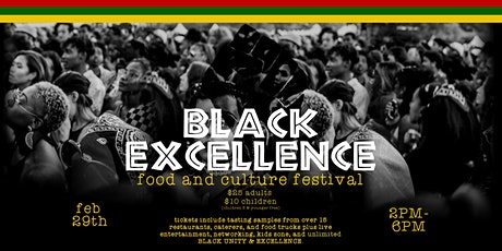 The Black Excellence Food & Culture Festival tickets