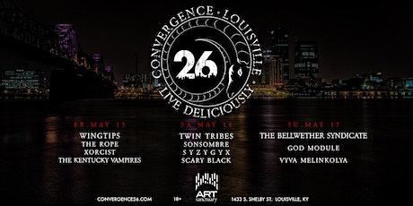 Convergence 26 tickets