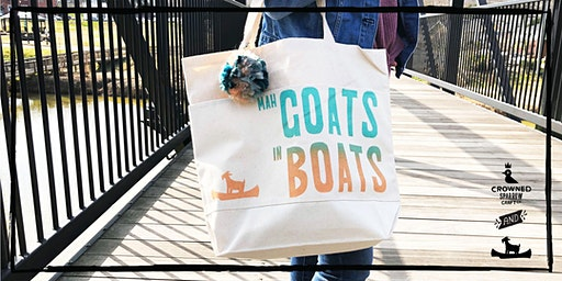 Crowned Sparrow Co: Cramerton Creates! | Totes Mah Goats In Boats