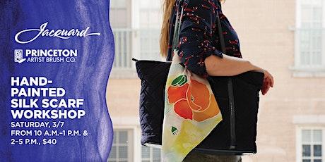 Hand-Painted Silk Scarf Workshop at Blick San Diego tickets