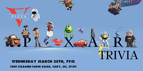 Disney Pixar Trivia at V Pizza Cary tickets