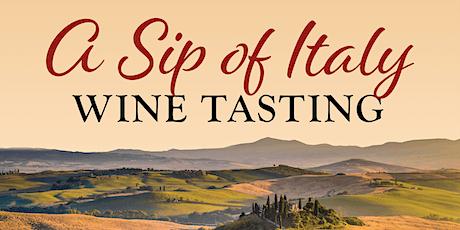 Sip of Italy - Wine Tasting biglietti