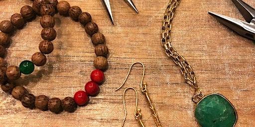 Community Crafting - DIY Earrings with Nefeline Castillo