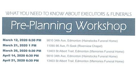 Pre-Planning Workshop tickets
