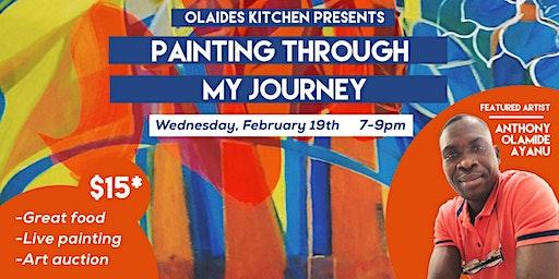 Painting Through my Journey (Live paint talk + art auction)