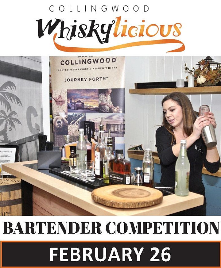 Collingwood Whiskylicious 4th Annual Bartender Competition image