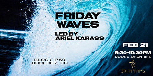 Friday Waves: Community Flow with Ariel Karass