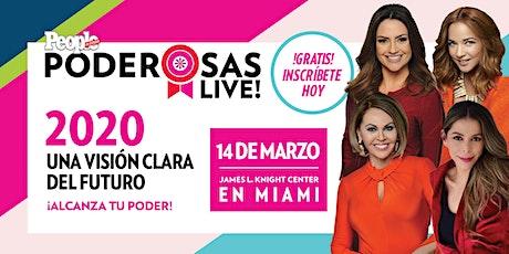 People en Español presenta Poderosas Live! 2020 tickets