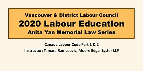 Canada Labour Code Part 1 & 2 tickets