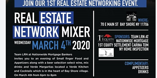Nationwide Mortgage Bankers  Real estate Network Mixer
