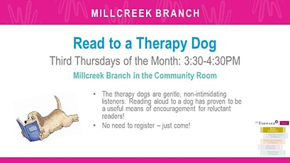 Read to a Therapy Dog tickets