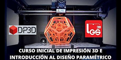 Curso Inicial De Impresión 3D entradas