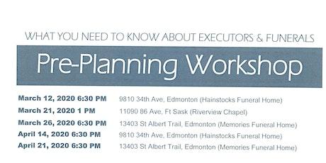 Pre Planning Workshop tickets