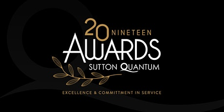 Sutton Quantum Sales Awards 2019 tickets