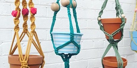 Macrame Plant Hangers Workshop at Georgies Yard tickets