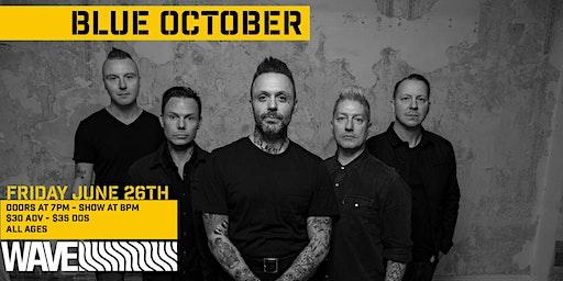 Blue October - Get Back Up Tour