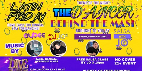 Latin Friday • The Dancer Behind The Mask tickets