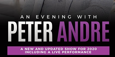 An Evening with Peter Andre - Cardiff tickets