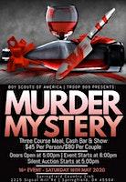 Boy Scout Troop 909 Presents Jazz Age Jeopardy Murder Mystery Dinner