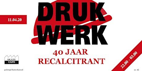Drukwerk (Live) - Skatecafe tickets