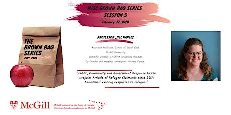 MISC Brown Bag Series -Professor Jill Hanley tickets