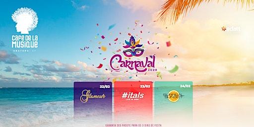 Pacote Carnaval 2020 - Cafe de la Musique