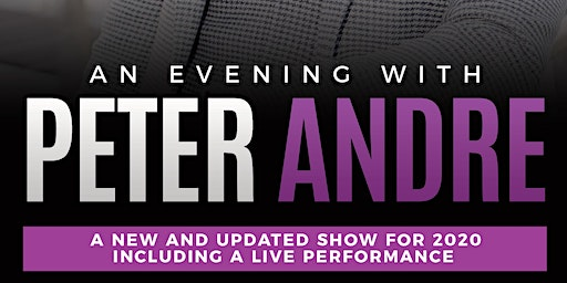An Evening with Peter Andre - Brighton