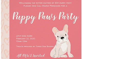 Puppy Paws Party tickets