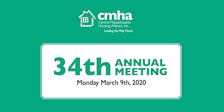CMHA / 34th Annual Meeting tickets