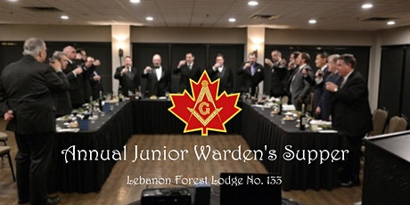 Junior Warden's Supper tickets