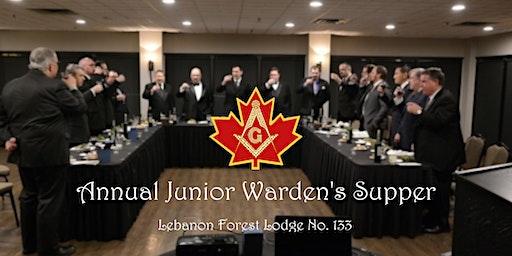 Junior Warden's Supper