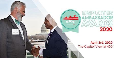 2020 goDCgo Employer Ambassador Awards tickets