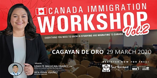 Canada Immigration Workshop - CAGAYAN DE ORO