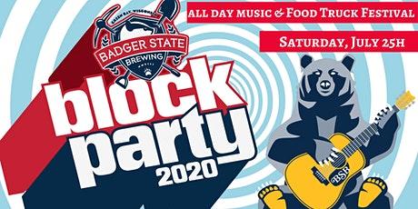 Badger State Block Party 2020 tickets