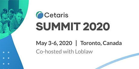 Cetaris Summit 2020 tickets