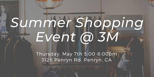 Summer Shopping Event